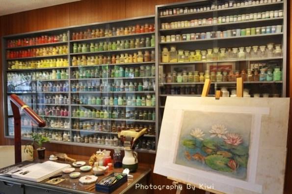 台中景點|林之助畫室紀念館 台灣膠彩畫之父走入膠彩的奇幻世界,日式老宅(台中旅遊景點一日遊)