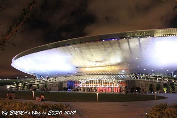 【大陸上海景點】世界博覽會之世博園區:世博文化中心、中國館、台灣館、亞洲廣場