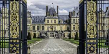 Napoleon Bonaparte's Castle outside of Paris, France