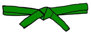 5th Kyu Green Belt to 4h Kyu Green Belt