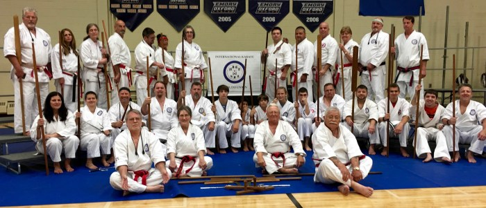 2016 IKKU Kobudo Group Picture
