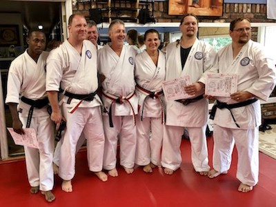 2018 IKKU Annual Black Belt Test