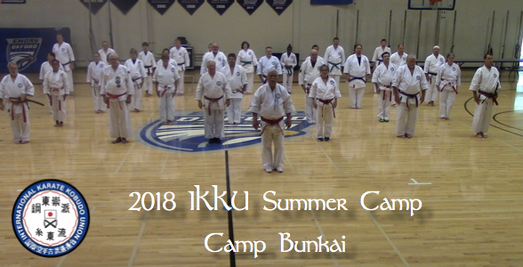 2018 IKKU Summer Camp – Camp Bunkai