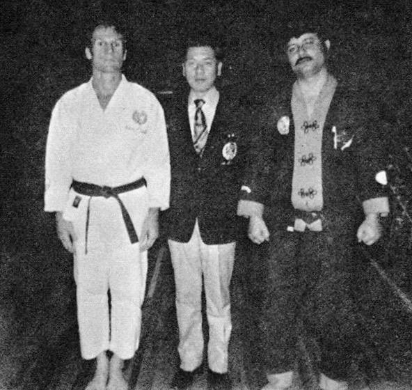 Richard Baillargeon, Shogo Kuniba and Joseph Ruiz circa 1972-73 in Valdosta, GA.