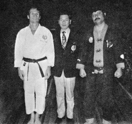 Richard Baillargeon, Shogo Kuniba and Joseph Ruiz circa 1972-73 in Valdosta, GA.