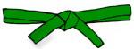 Green Belt  - No - Stripe