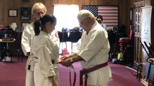 Tsuba Presentations for Shihan Dai Billie and Larry Robinson