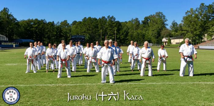 2016 IKKU Juroku Kata Clinic