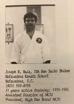 Saiko Shihan Joseph Ruiz
