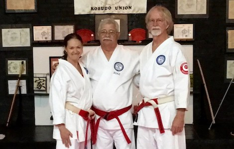Billie & Larry Robinson Promoted to 6th Dan Shihan Dai