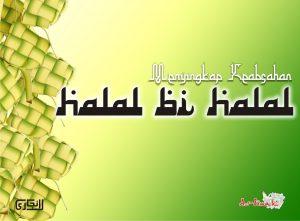 Idul Fitri Dan Tradisi Halal Bihalal Ikmal Online