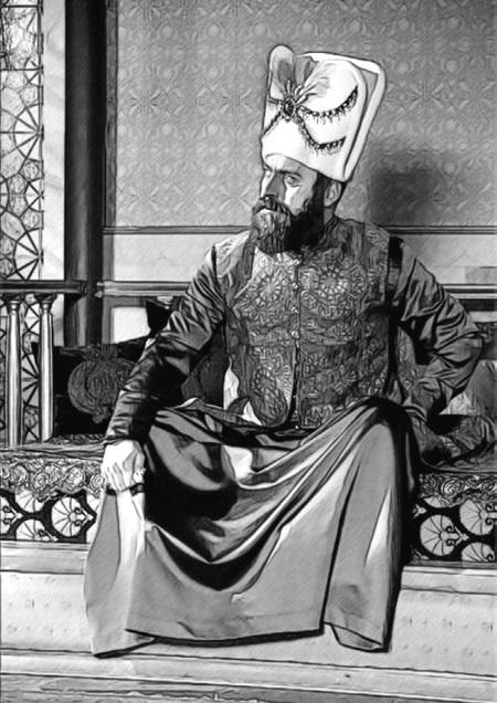 Фотографии семьи османской империи серо-зеленый