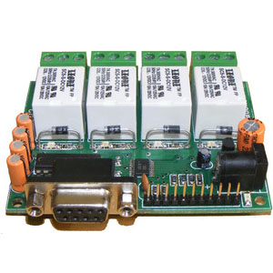 R242 - RS232 Relay Daq Card - iknowvations.in