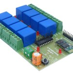 Bluetooth relay board iUB-BT8R for your projects.