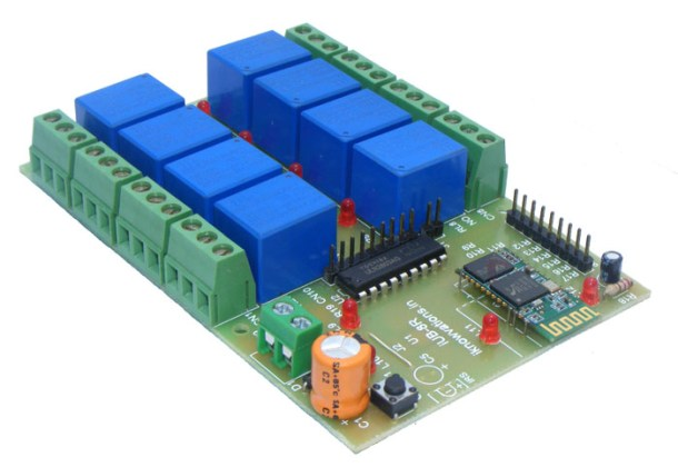 Bluetooth relay board iUB-BT8RD iknowvations