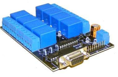 iRSD-8R 8 channel Serial Relay & Daq Board