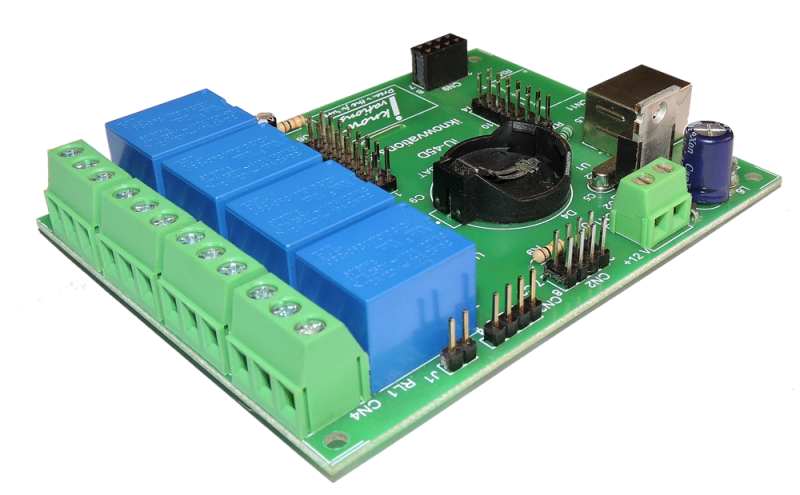 iU-45D USB Relay & DAQ board with digital & analog I/Os from iknowvations-2