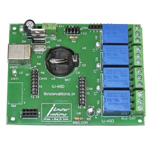4-channel-usb-relay-&-daq-board-iU-45D-10 from iknowvations.in