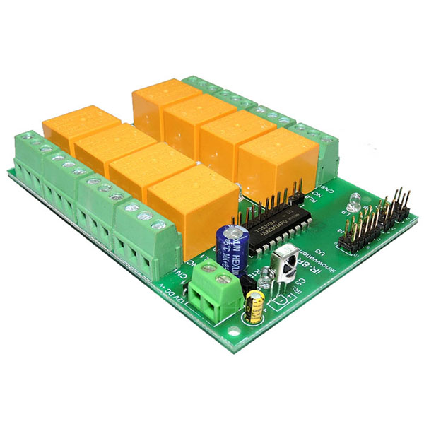 8 ch ir infrared remote control relay board - iR-8R-V - 3 from iknowvations.in