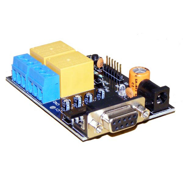 2 channel RS232 serial relay board - iRS-2R