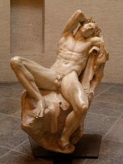 Barberini Faun, late 3rd or early 2nd century BCE, marble, 215 cm, Glyptothek, Munich
