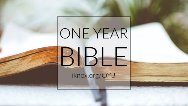 One Year Bible Introduction Image