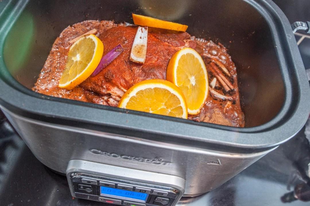 Pulled pork med julens smaker