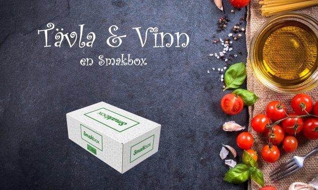 Tävla och vinn en smakbox