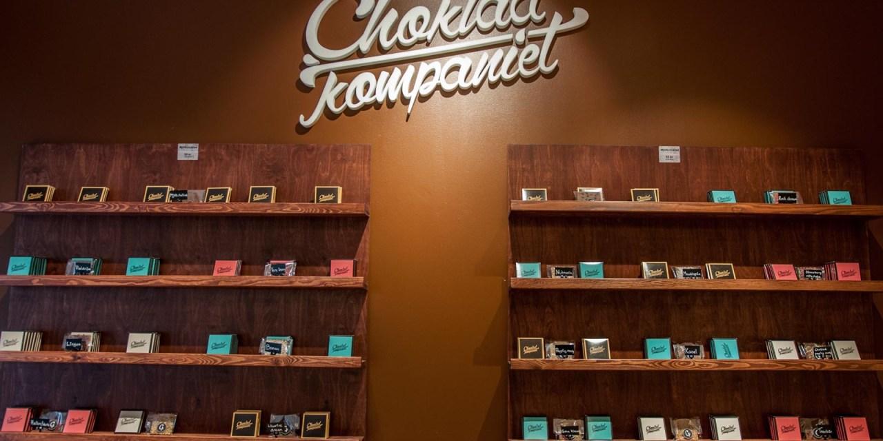Min egna chokladkaka hos Chokladkompaniet