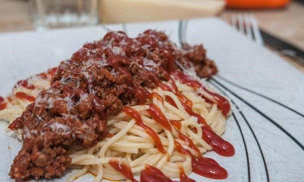 En köttfärssås för dig som har lite bråttom