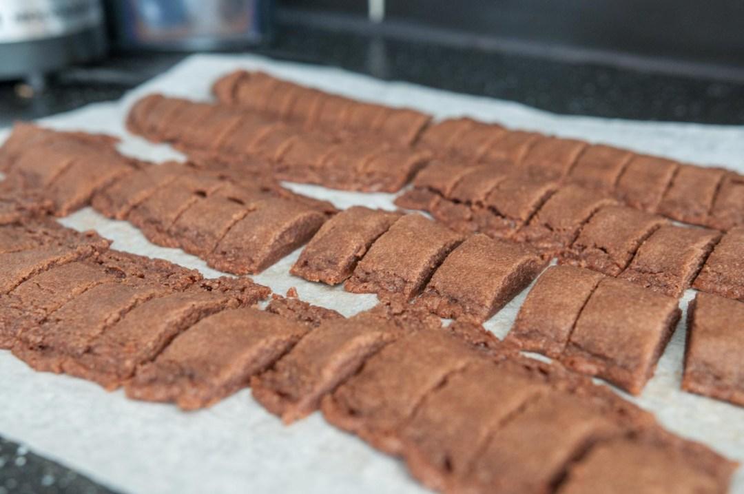 sega chokladsnittar