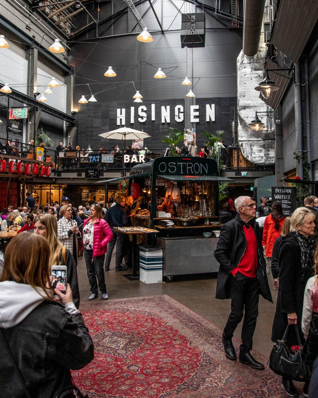 Lindholmen street food market