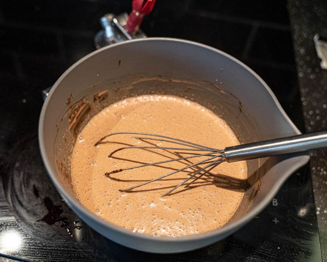chokladmousse i sifon