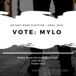 Vote Mylo Notary Node Election 2020