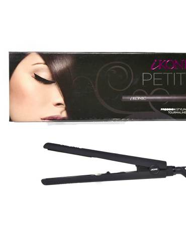 mini hair straighteners with a box