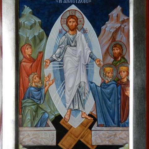 Résurrection, 19 cm x 25 cm