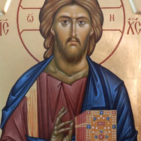 Christ Pantokrator, détail