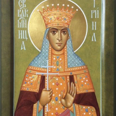 Sainte Irène, 15 cm x 20 cm
