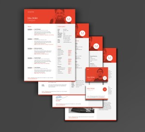 Brand yourself with the Neue Swiss Resume Template