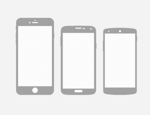 FREE Smartphones for paper wireframing