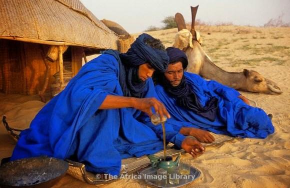 Los 'hombres azules' son los Tuareg