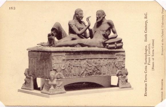 Los Etruscos, la primera civilización urbana