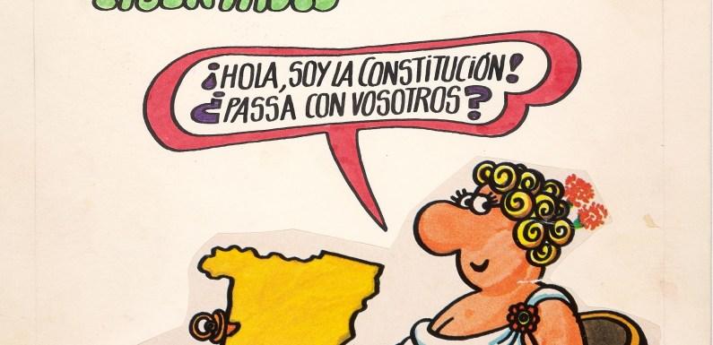 """Forges, """"La Consti después de la Consti""""; exposición en la BNE"""