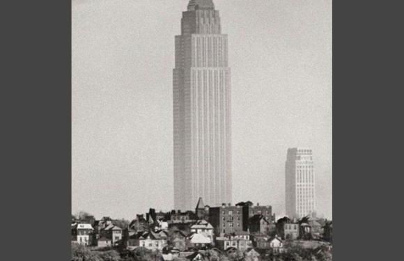 Cuando el Empire State Building estaba solo en Manhattan