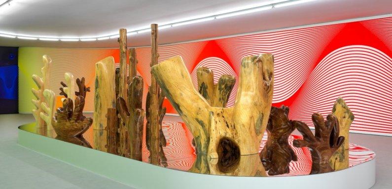 After Nature, la esculturas de la artista suiza Claudia Comte en el Museo Thyssen