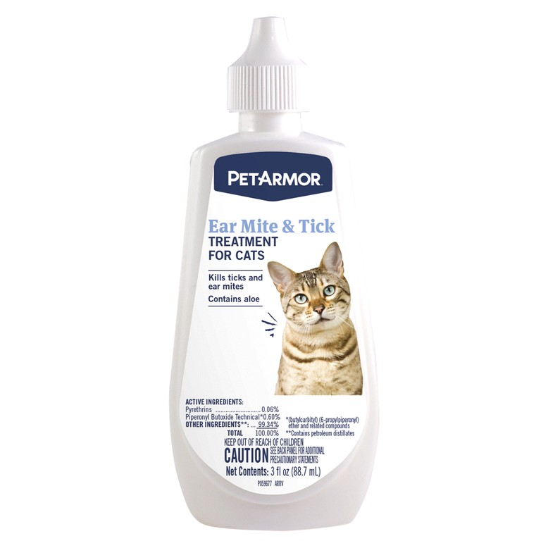 Ear Mite Medicine For Cats