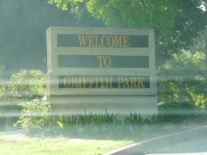 L'entrée du Griffith Park