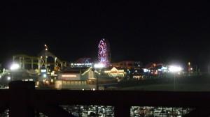 Le Pier vu de nuit