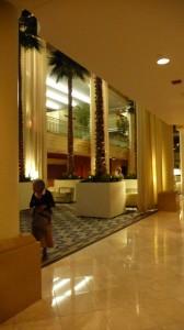 Intérieur de l'hôtel de nuit