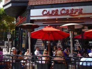 Le Café Crêpe sur 3rd St Promenade